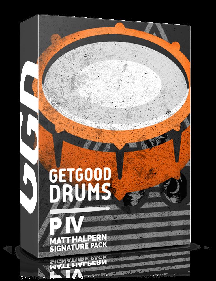 GetGood Drums P IV Matt Crack