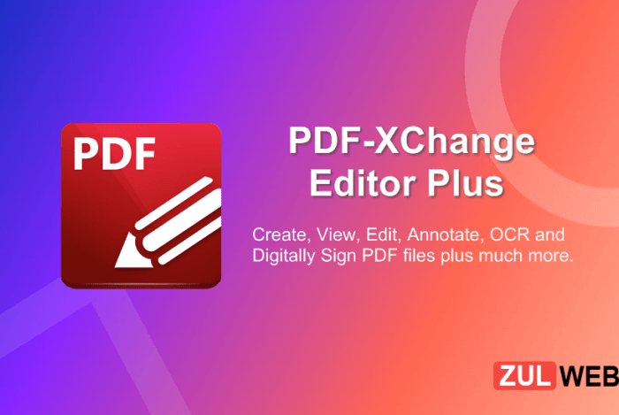 PDF XChange Editor Plus 9.0.354.0 With Crack [Latest] Download