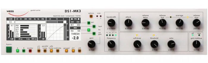 Softube – Weiss DS1-MK3 v2.5.9 SSX, VST, VST3, AAX