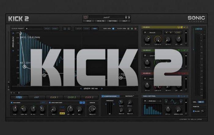 Sonic Academy Kick 2 Crack (Win) 1.2.8 VST Free Download